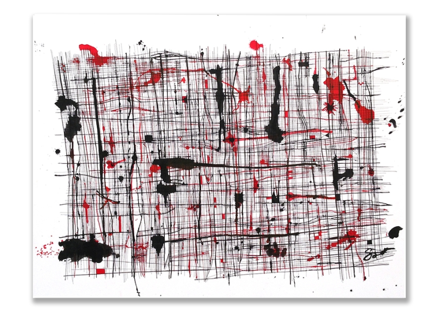 Tense Fibers Ink 27